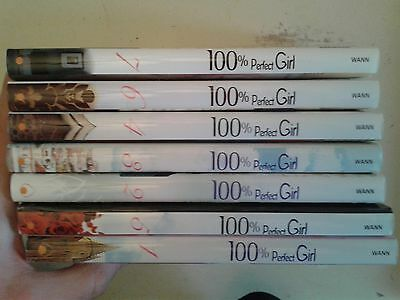Lot 7 mangas collection 100 % perfect girl tome 1 à 7 intégrale
