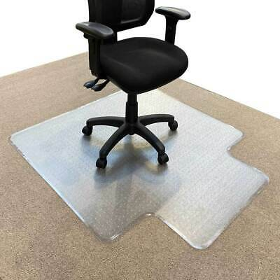 Heavy Duty Keyhole Office Chair Mat Carpet Floor Protector Large Dimpled 5yr War