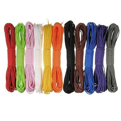 100ft 7 Strand Core 550 Paracord Parachute Cord Rope Lanyard Mil Spec TYPE III