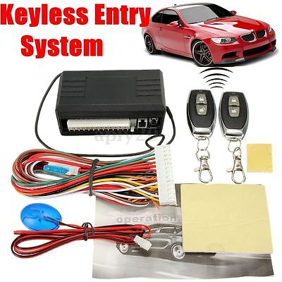New Auto Car Remote Central Control Door Lock Locking Keyless Entry System Kit
