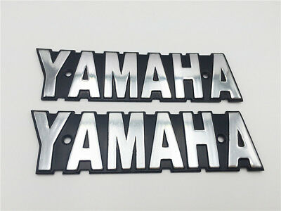 Metal 3D Emblem  Decals For Yamaha Sticker Motorcycle RXS LS100 XS650 Fuel Tank