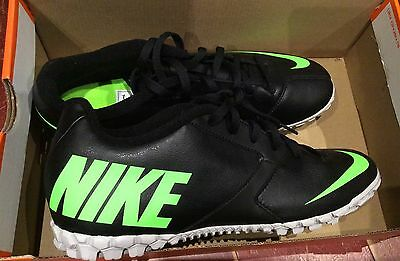 Indoor Soccer Nike Tombas Size 9 (27cm) Black/green
