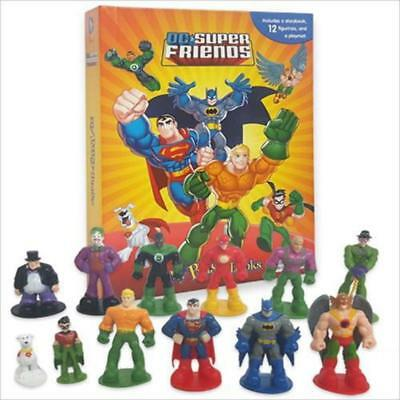 Super Friends My Busy Book, Map, Figures