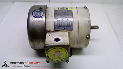Leeson Electric Corporation 112523.00, Ac Motor, 1/4Hp, 1725 Rpm #216872