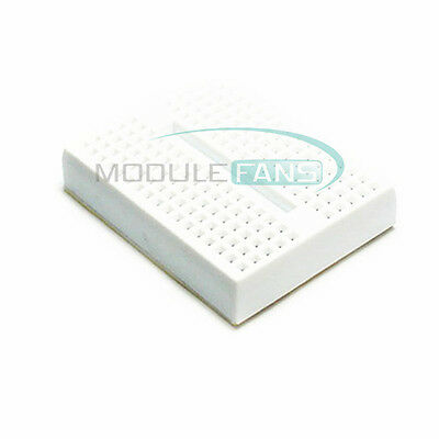 5Pcs 170 Tie-points Mini White Solderless Prototype Breadboard for Arduino