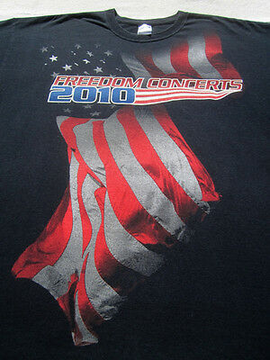 SEAN HANNITY 2010 freedom concerts 2XL T-SHIRT charlie daniels band