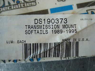 Drag Ds-190373 Trans Mount Button Head Style Smooth Harley Fxst/flst 1989-1995