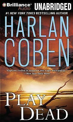 PLAY DEAD unabridged audio book on CD by HARLAN COBEN (15 CDs / 18 Hours)