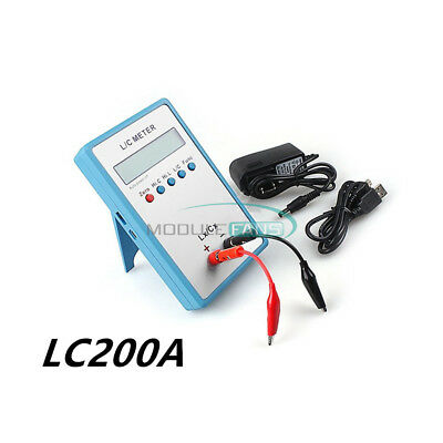 LC200A Inductance Inductor Capacitance Capacitor L/C Multimeter Meter Tester new