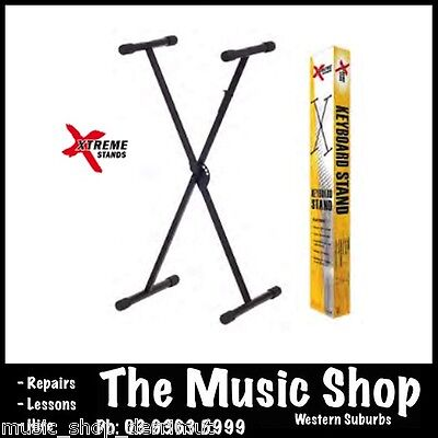 Xtreme Professional Height Adjustable Keyboard Piano Stand Single Braced Type X