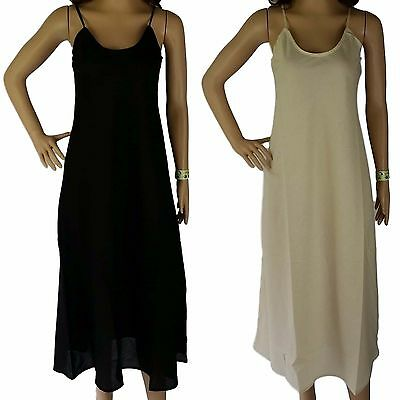 Size 20 Full Slip 100% COTTON Quality Voile Ladies XXL Long Petticoat Dress