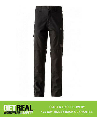 FXD - Men's Black Stretch Work Pant Trousers (WP3)