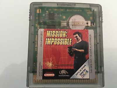 mission impossible gameboy color