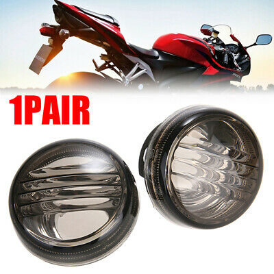 1Pair Smoke Turn Signal Lens for Suzuki Boulevard VZR1800 C50 Intruder Marauder