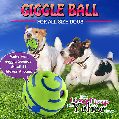 Giggle Dog Ball Doggy Play Rolling Shaken Funny Sound Balls Toys Wobble