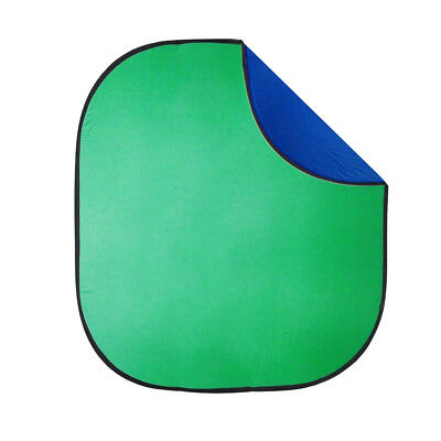 Collapsible Background 200x230cm ChromaKey BLUE/GREEN Reversible Panel Filming