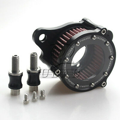 CNC Rough Crafts Air Cleaner+Intake Filter System For Harley Sportster 2004-2015