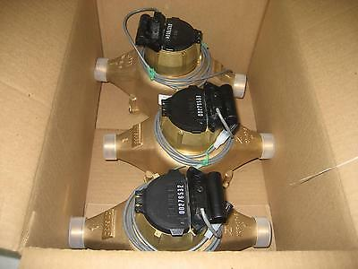 "Box of 3 Zenner 1"" Model PPD07 PPD07US-EBP ZPM NITRO II Water Meter 2013 PPD"