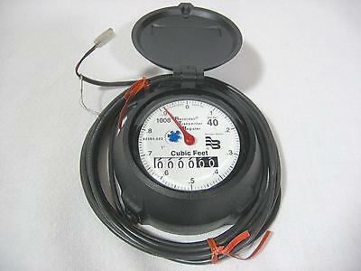 """Badger Recordall Model 40 1"""" 2-wire RTR Register for Water Meter R40 NOS"""