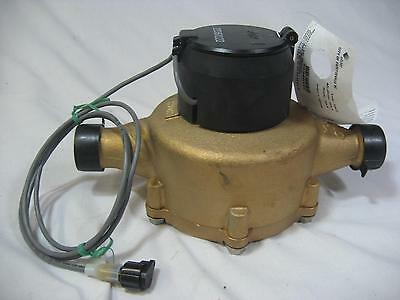 "New Elster 1"" Bronze Water Meter C700 InVision 2P Encoder Direct Read or Radio"