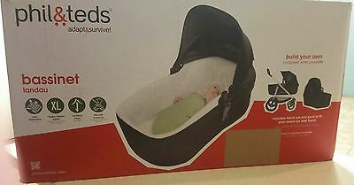 Phil&teds Smart Lux Bassinet Very Good