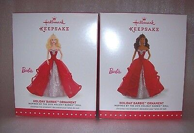 2016 HALLMARK KEEPSAKE CHRISTMAS TREE ORNAMENT BARBIE 3 PC PICNIC SET NEW IN BOX