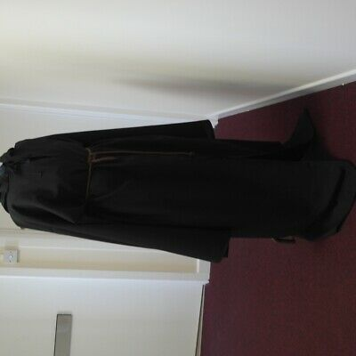 Sale Halloween Black Monk Robe/ Pagan/jedi/wizard/knight Xlong