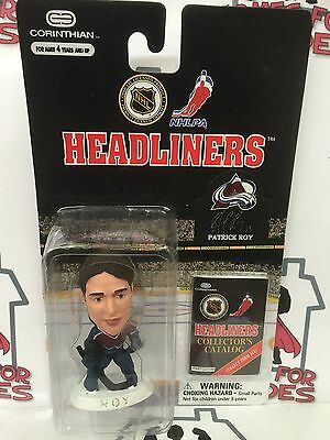 Corinthian Nhl Ice Hockey Colorado Avalanche Patrick Roy Sealed In Blister