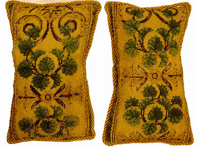 Antique Collectible: 18th Century Italian Needlepoint (pair)