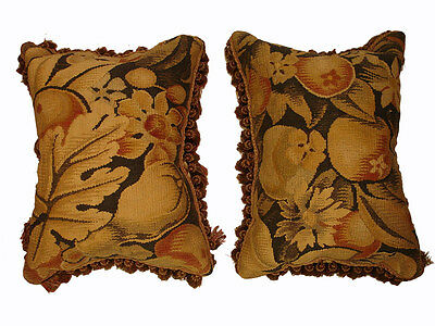 Antique Collectible: 18th Century French Tapestry (pair)