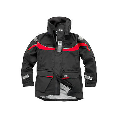 Gill OS1 Sailing Jacket 2017 - Graphite/Red