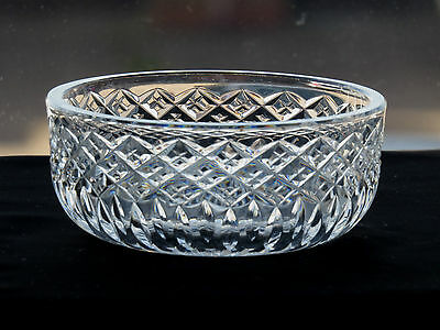 Stuart Crystal Glass Serving Bowl Shaftsbury Pattern