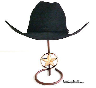 Cowboy Hat Stand with Lone Star