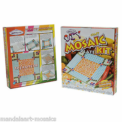 Mosaic Plate Craft Kit