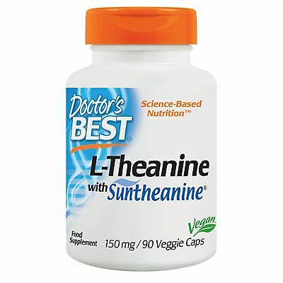Doctor's Best, L-Theanine mit Suntheanine, 150mg, 90 Veg. Kapseln