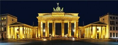 led wandbild mit beleuchtung berlin brandenburger tor. Black Bedroom Furniture Sets. Home Design Ideas