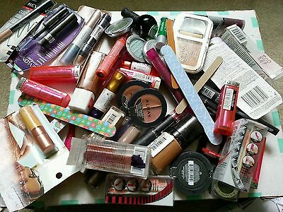 100  Pc cosmetics and assesary Assorted Lot-revlon,loreal,cg,maybeliin and more