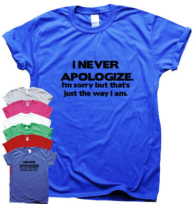Funny slogan t shirts for womens mens humour novelty gifts ladies awesome top
