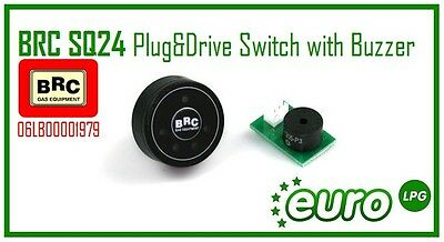 Brand New BRC SQ24 Plug&Drive Switch with Buzzer 06LB00001979 LPG Conversions