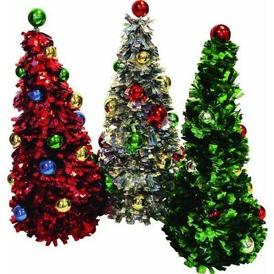 Red/Green/Opal Ornament Tree,Part PT19-ASST