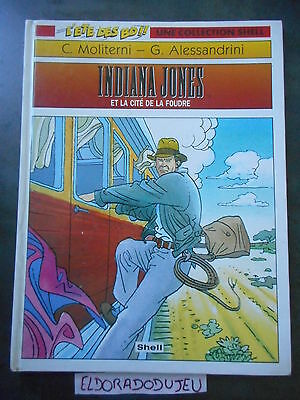 Eldoradodujeu   Bd - Indiana Jones 4 Et La Cite De La Foudre - Shell 1994 Be