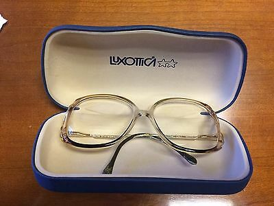 LUXOTTICA - Women's Vintage Glasses Frames with Case - Made in Italy - Fast Ship