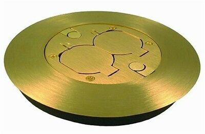 Box,Floor Cover Kit,Brass Kit by HUBBELL ELECTRICAL