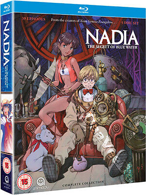 Nadia: Secret of Blue Water (Complete Collection) NEW Series Blu-Ray 5-Disc Set