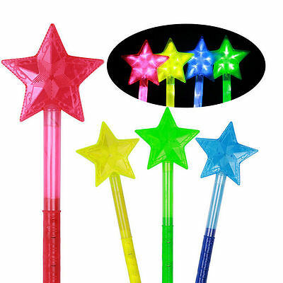 New Glow Sticks Party Star Light Assorted Lanyard Favors Neon Raves 1pcs SSS