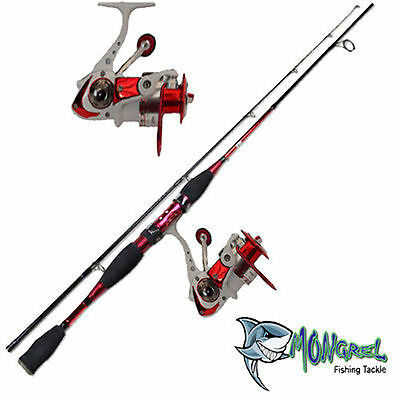 Rod & Reel Combo Red General Purpose Rod And Reel Shore Boat Jetty