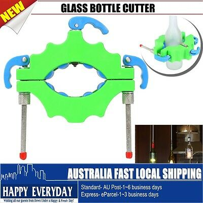 Glass Bottle Cutter Tool Recycle Craft Cut Kit Wine Beer Glass Jar Machine New