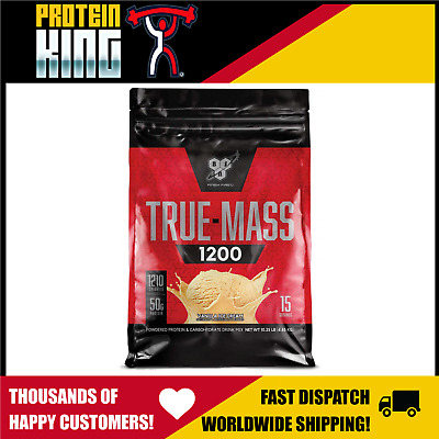 Bsn True Mass 1200 Vanilla 4.6Kg Weight Gainer Protein Truemass Super Bulk Maxs