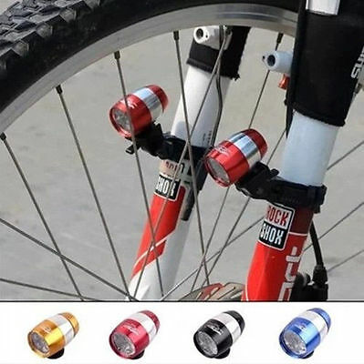 2016 6 LED Cycling Bicycle Head Front Flash Light Warning Lamp Safety Waterproof