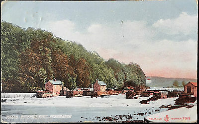 Falls of The Bann Coleraine Postcard Northern Ireland Co Derry Londonderry 1907